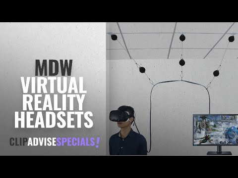 Top 5 MDW Virtual Reality Headsets [2018 VR Best Sellers]: 6 Packs Retractable Cable Management for