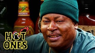 Hot Ones - Trick Daddy Prays for Help While Eating Spicy Wing