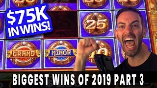 💰 MASSIVE WIN$ from 2019 💥 BIGGEST WINS of the YEAR 😜 Part 3 of 3