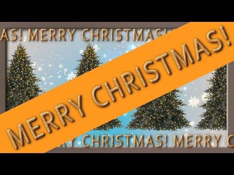 🎄Beautiful Live screensaver🎄Merry Christmas!🎄4K NO AUDIO🎄Free download
