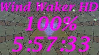 Wind Waker HD 100% Speedrun in 5:57:33[World Record]