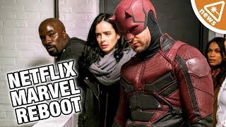Will Daredevil Get Completely Rebooted in the MCU? (Nerdist News w/ Jessica Chobot)
