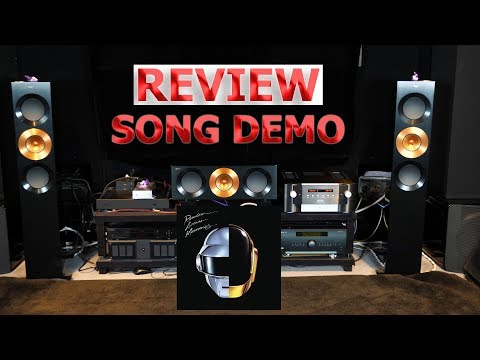 Mark Levinson 585 Review Song Demo HiFi Dac Integrated Amplifier No.585 Daft Punk