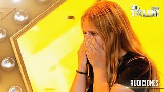 ¡Una estrella! JULIANA sorprendió y se fue con el BOTÓN DE ORO   Audiciones 8   Got Talent Uruguay