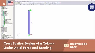 KB 001600 | Cross-Section Design of a Column Under Axial Force and Bending