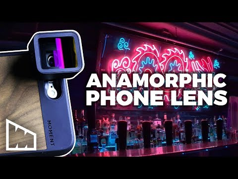 My Phone Shoots Anamorphic! – Moment Lens Unboxing - Making Movies