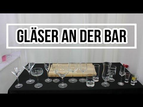 Die richtigen Cocktailgläser für Deine Drinks, welche Gläser zu welchem Getränk passen