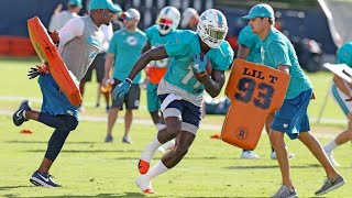 Miami Dolphins Pre-season Training | Nfl