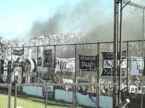 """""""CHACO FOR EVER VS SARMIENTO RECIBIMIENTO 25-09-2011"""" Barra: Los Negritos • Club: Chaco For Ever"""