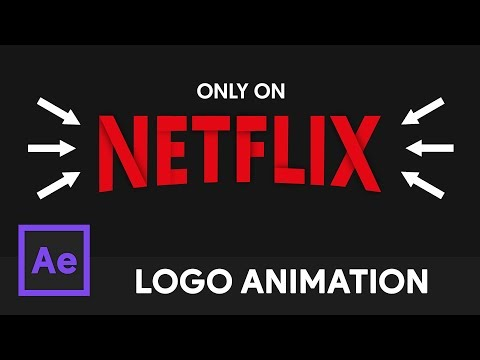Netflix Logo Animation - After Effects Tutorial (No Third Party