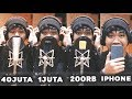 Microphone 40 Juta Vs 1 Juta Vs 200 Ribu Vs Iphone
