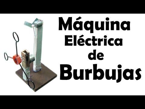 Como Hacer una  Máquina de Burbujas Eléctrica (muy fácil de hacer)