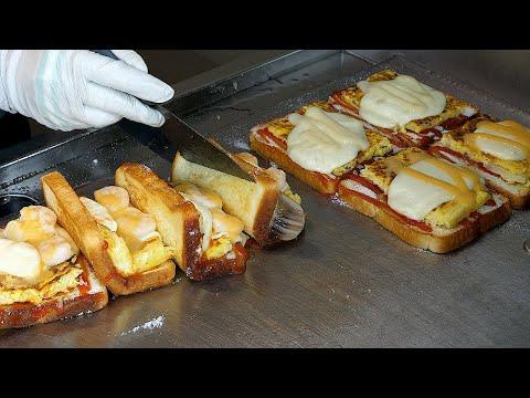 Mozzarella Cheese Shrimp Toast – Korean Street Food