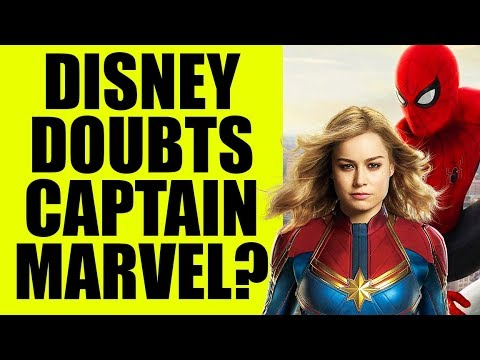 MCU - Disney LOSES Confidence in Captain Marvel & Brie Larson After Spiderman SONY Deal ??