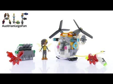 Vidéo LEGO DC Super Hero Girls 41234 : L'hélicoptère de Bumblebee