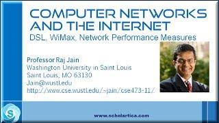 DSL, Cable Modem, WiMax, Broadband Wireless