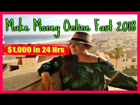 (2018) How To Make Money Working From Home – How To Work From Home & Make Money Online Fast
