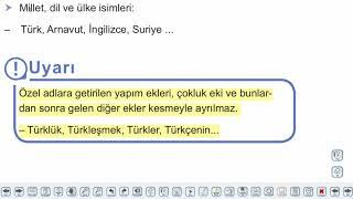 Eğitim Vadisi TYT Türkçe 11.Föy Yazım Kuralları - 1 Konu Anlatım Videoları