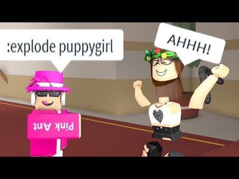 Roblox admin commands gone wrong   *kidnapped*
