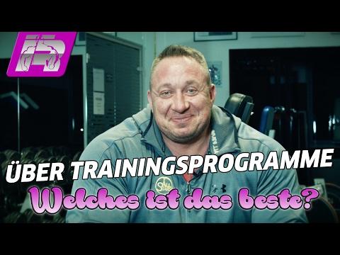 Das beste Trainingsprogramm? ...und ein Nachtrag zum letzten Missverständnis