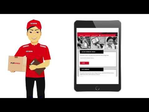 PCP Express, Lacak kiriman online, cek ongkir dan lokasi cabang