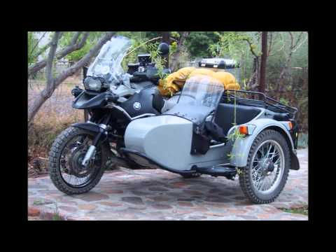 BMW 1200 GS Adventure Sidecar Ride
