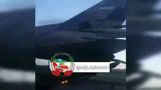 preview picture of video 'جابجایی جت های جنگنده در جاده ساوه'