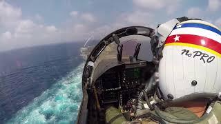 F/A-18F Carrier Break