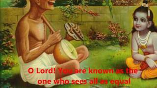 Prabhuji More Avgun with lyrics/translation - YouTube