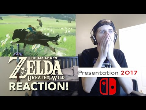 THE MUSIC!! Breath of The Wild Switch Trailer REACTION!!