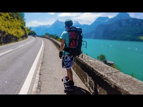 300km On The Road - A Skateboarding Trip