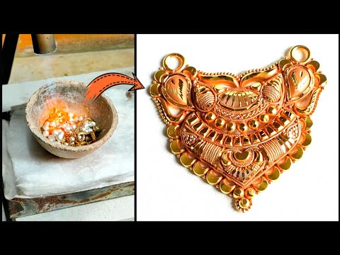 24K Gold Mangalsutra Design Making   Proof of 24K Gold Jewellery Making Part II - Gold Smith Jack