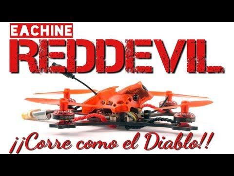 Eachine RedDevil: ¡Corre como el Diablo!