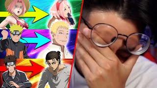 Raafey REAGIERT auf die Veränderung von Naruto Charaktere in Boruto