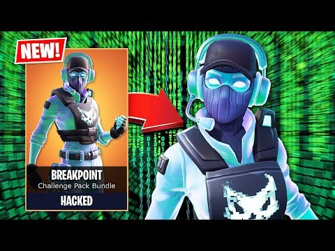 I HACKED for the *NEW* BREAKPOINT Skin EARLY! (Fortnite Battle Royale)