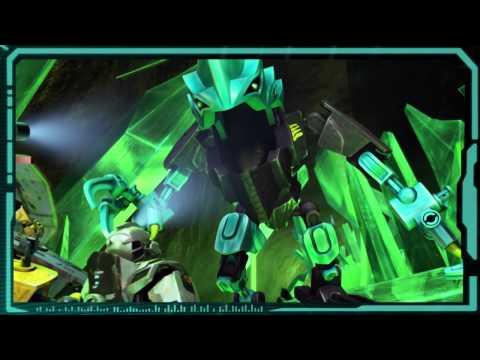 Vidéo LEGO Hero Factory 44026 : Crystal Beast contre Bulk