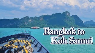 How to Travel from Bangkok to Koh Samui