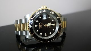Invicta Pro Diver 8927OB Automatic Watch Review - Rolex Submariner 16613LN Homage - Perth WAtch #47