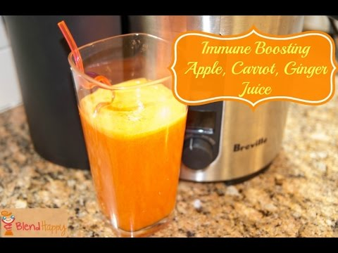 Video Apple Carrot Ginger Juice Cleanse Recipe