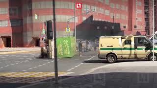 ДТП с «Газелью» и машиной полиции