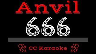 Anvil   666 CC Karaoke Instrumental Lyrics