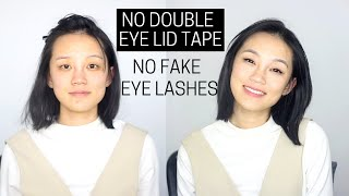 Everyday Asian Monolid | Single Hooded Eye Lid Makeup ( NO Fake Eye Lashes/ NO Double Eye Lid Tape)