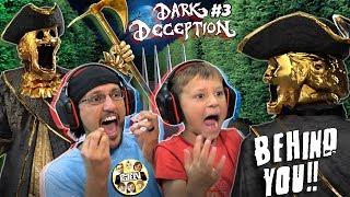 SCARY STATUES CHASING US! 🗽 RUN! 🏃♂️ (FGTeeV plays Dark Deception #3)