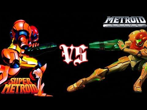 Super Metroid VS Metroid Prime (comparison)