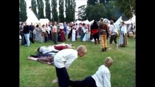 preview picture of video 'Die Pest auf dem Mittelaltermarkt in Warendorf 2013'