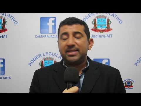 Entrevista do vereador Tiago Pereira (PT) - 12/03/2019.