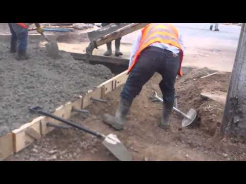 Juntas de construcción en pavimentos