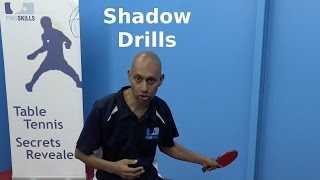 Shadow Drills   Table Tennis   PingSkills