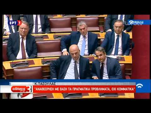 Οι τοποθετήσεις εισηγητών και βουλευτών στη συζήτηση αναθεώρησης του Συντάγματος   14/11/18   ΕΡΤ