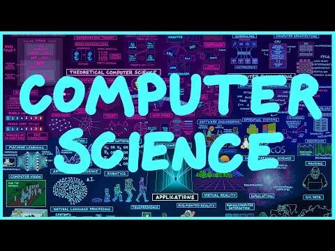 Mapa počítačové vědy